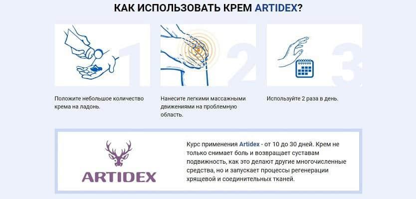 Артидекс (Artidex) инструкция по применению